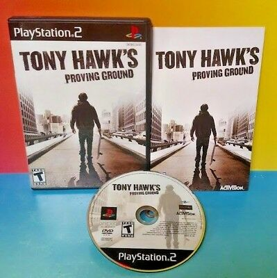 Tony Hawk's Proving Ground  - PS2 Playstation 2 COMPLETE Game 1 Owner Mint Disc