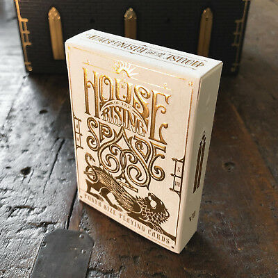 NEW House of the Rising Spade FARO playing cards USPCC - Stockholm17 Limited