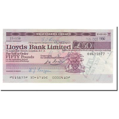 [#564981] Banknote, Great Britain, LLOYDS BANK, 50 Pounds, 1980, 1980-10-15