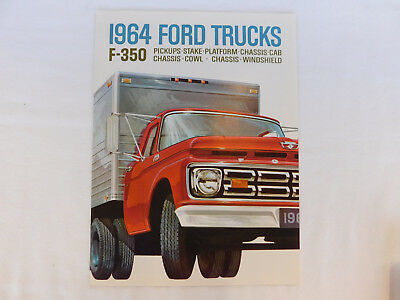 1964 Ford Trucks F-350 Brochure & Specifications