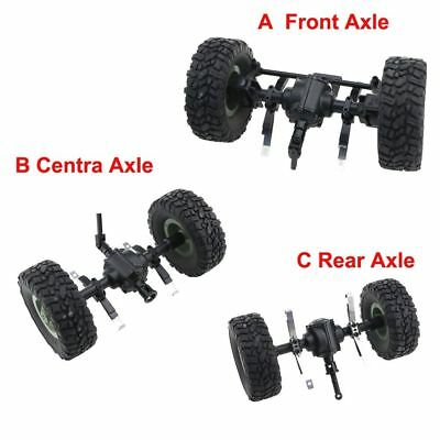 Replacement Bridge Axle Front Center Rear Axle Spare Parts For Q60 1:16 RC Truck