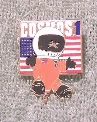 Cosmos 1 Balloon Pin