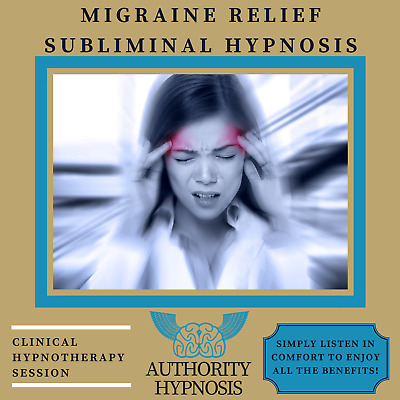 Migraine Relief Hypnosis, Cure Headaches, Natural Pain Stress Anxiety Relief