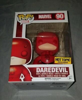 Funko Pop # 90 Marvel Daredevil Target exclusive NIB Bobble Head