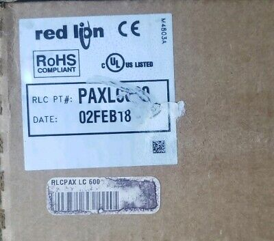 NIB Red Lion PAXLC600 Counter