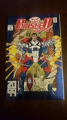 The Punisher 2099 Foil Cover ~ Marvel Comics ~ Volume 1 Number 1 ~ Feb 1993 NM