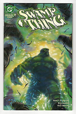 SWAMP THING Annual # 6 (2nd Series) - DC 1991  (fn-vf)