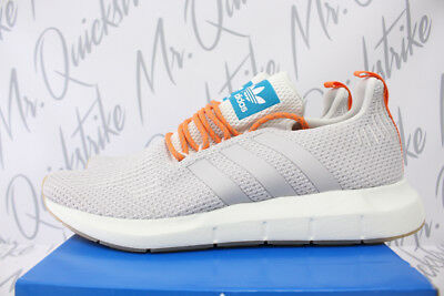 4e4f342c08589 Adidas Swift Run Summer Sz 8.5 Crystal White Grey One White Tint Cq3085