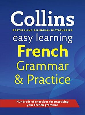 Easy Learning French Grammar and Practice (... by Collins Dictionaries Paperback