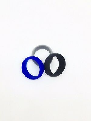 One (1) Silicone Rubber Wedding Engagement Ring Band Sports US SELLER size 4-12