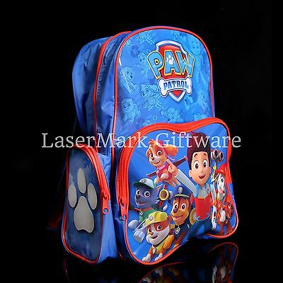 Brand new kids toddlers Paw Patrol backpack school bag Free Shipping