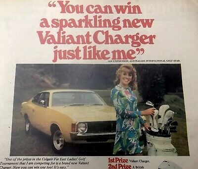 1974 Vintage Valiant Charger Advertising 70s Toys Woman's Weekly Pedal Car T.V
