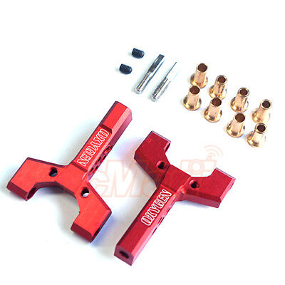 OXYGEN Aluminum Universal Fit Short Slip Y-Arm 2pcs Red RC Cars Drift #00502R1