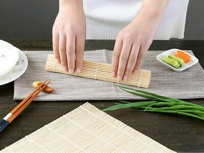 Bamboo Rolling Mat for Sushi 10.5'' Square