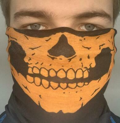 Skull / Skeleton Face Mask Neck Warmer For Mtb Motorbike Quads / Bikes