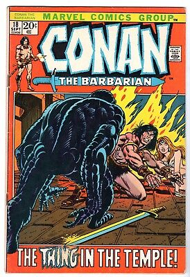 Conan The Barbarian #18, Very Fine Condition'