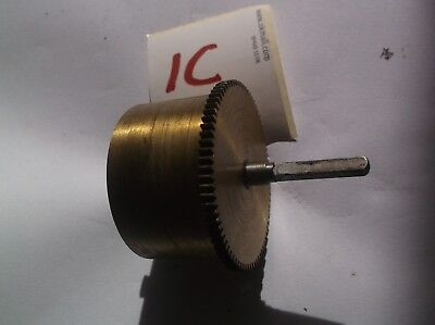 A Mainspring Barrel  From An Old Smiths 4 Hammer 4X4 Chime  Mantle Clock  Ref 1C