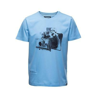 Cooph T-Shirt FIDELAROID - Ethereal blue Small