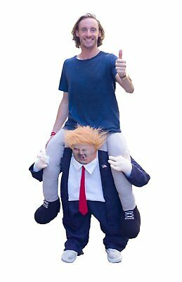 President Donald Trump Halloween Costume Outfit Adult Funny Ride Me Womens Mens
