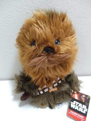 Star Wars Talking Plush Chewbacca The Force Awakens, 8-9 Inch, New