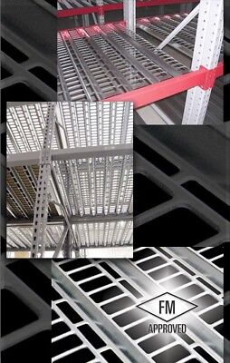 "Used pallet rack decking - Solid and Punch Deck type 31""x 46.5"" and 37"" x 44"""