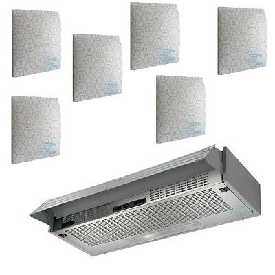 CAPPA SOTTOPENSILE CUCINA Faber 60 + Filtri Luce Led Kfab-15260+ ...