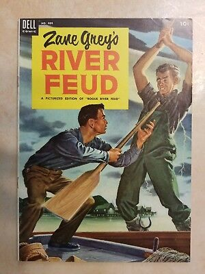 Zane Grey Four Color 484 - F/vf ( 7.0 ) Painted Western Cover / Shipping Special