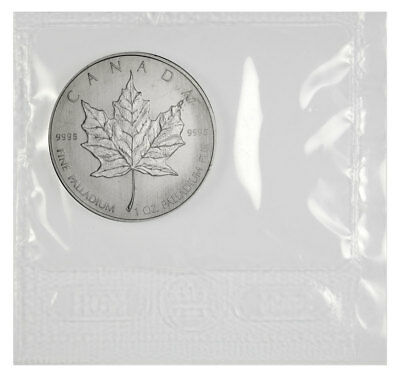 Random Date Canada 1 Troy Oz .9995 Palladium Maple Leaf $50 Coin SKU32970