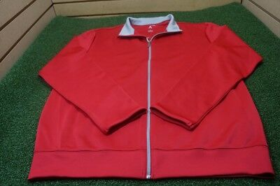 Antigua Men's Golf Performance Jacket Red LARGE