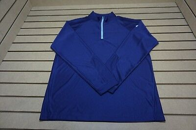 NEW Under Armour Golf  Pullover Mens Size Large  Purple 85b