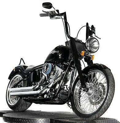 """2005 Harley-Davidson Softail  2005 Harley Davidson Softail FXST Fatboy Custom 103"""" Stage 4 PM 250 Wide Tire"""