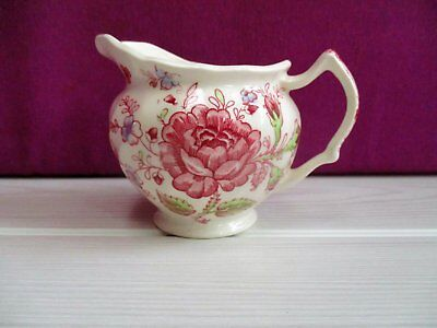 pot à lait en porcelaine made in England motif floral