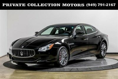2014 Maserati Quattroporte  2014 Maserati Quattroporte GTS 1 Owner Clean Carfax Low Miles Well Kept