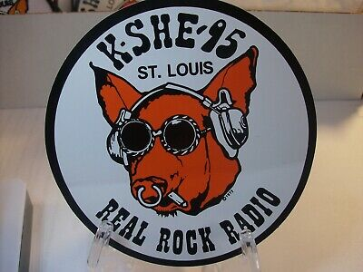 K-SHE 95 Real Rock Radio Sticker     K-SHE KSHE  BRAND NEW