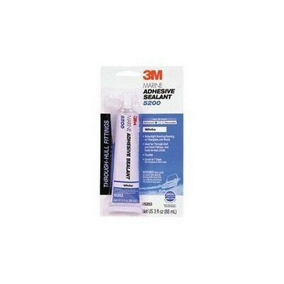 3M 05206 Marine Adhesive Sealant 5200 White 1 oz Tube
