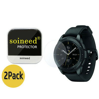 {2-Pack} SOINEED® Tempered Glass Screen Protector For Samsung Galaxy Watch 42mm