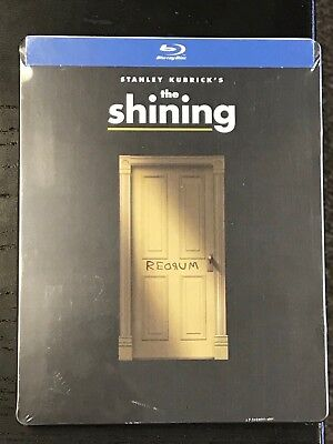 The Shining Blu-Ray Steelbook New Mint Sealed Horror Stanley Kubrick Nicholson