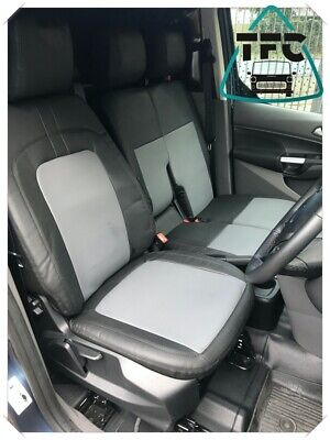 Ford Transit Connect High Quality Seat Covers Eco Leather + Dbl Stitching