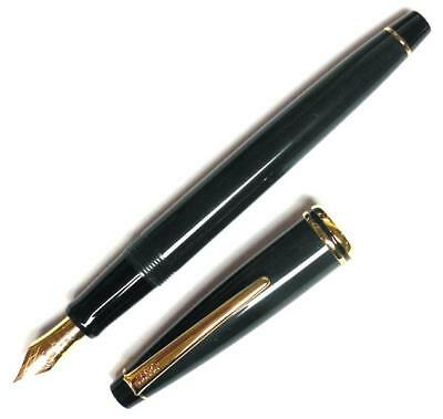 Cross Radiance Fountain Pen, Forest Green & Gold, Extra Fine Nib, Brand New