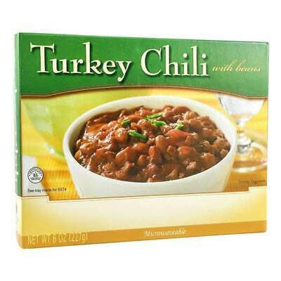 BariatricPal Microwavable Single Serve Protein Entree - Turkey Chili with Beans