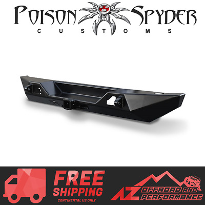 Fits Jeep Wrangler JK Black Bumpers Rear   Made in USA J0047860