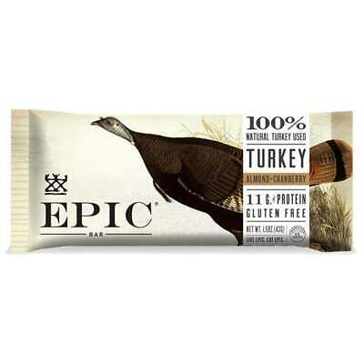 Epic Meat Bar - Turkey Almond Cranberry