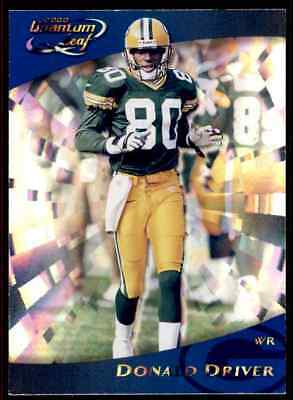 9b1a3534bce DONALD DRIVER GREEN Bay Packers Autographed Authentic NFL Football ...