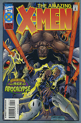 Amazing X-Men #4 1995 Age of Apocalypse Andy Kubert Marvel Comics E