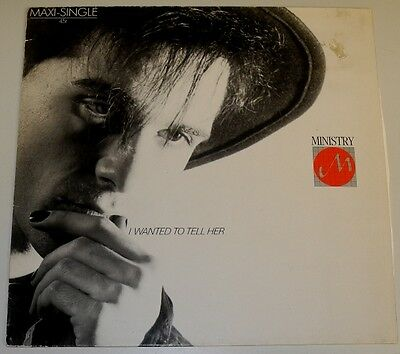 """12"""" De**ministry - I Want To Tell Her (Arista '83)***7282"""