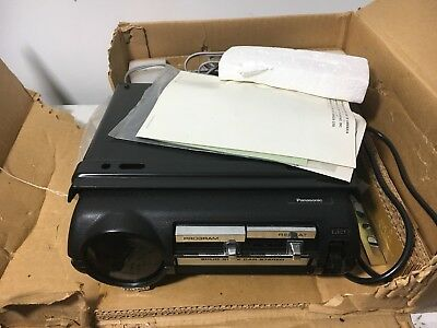 Never Used Panasonic Car Stereo 8 Track Tape Player, Model CX-880