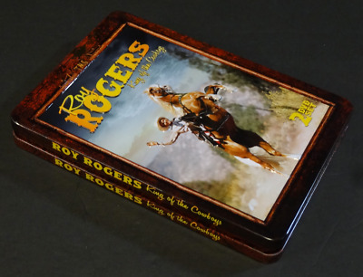 Roy Rogers: King Of The Cowboys (DVD, 2012, 2-Disc Set) Tin Case packaging MINT