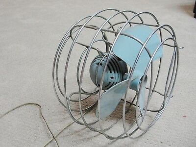 Vintage Westinghouse Ball Fan 360 degree up/down Cage Cat WF911 Style Y50332 USA
