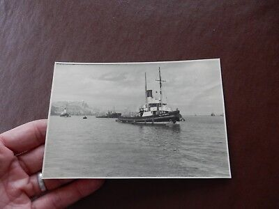 Postcard Harbour  Yorkshire Coast  Clear Detailed Nautical Real Photo  B