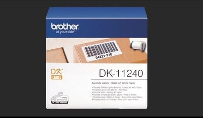 Brother Genuine DK-11240 LABEL 102 X51mm 600 Roll